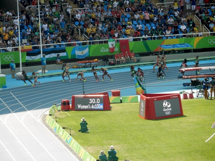 Track and Field Women 4x100 8