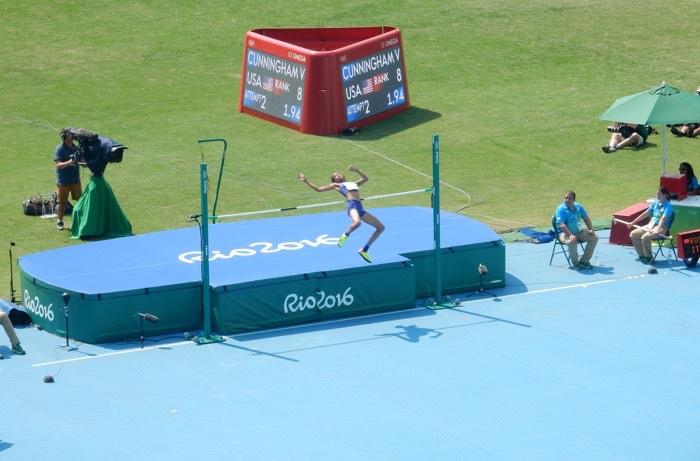 Track and Field Women High Jump 7