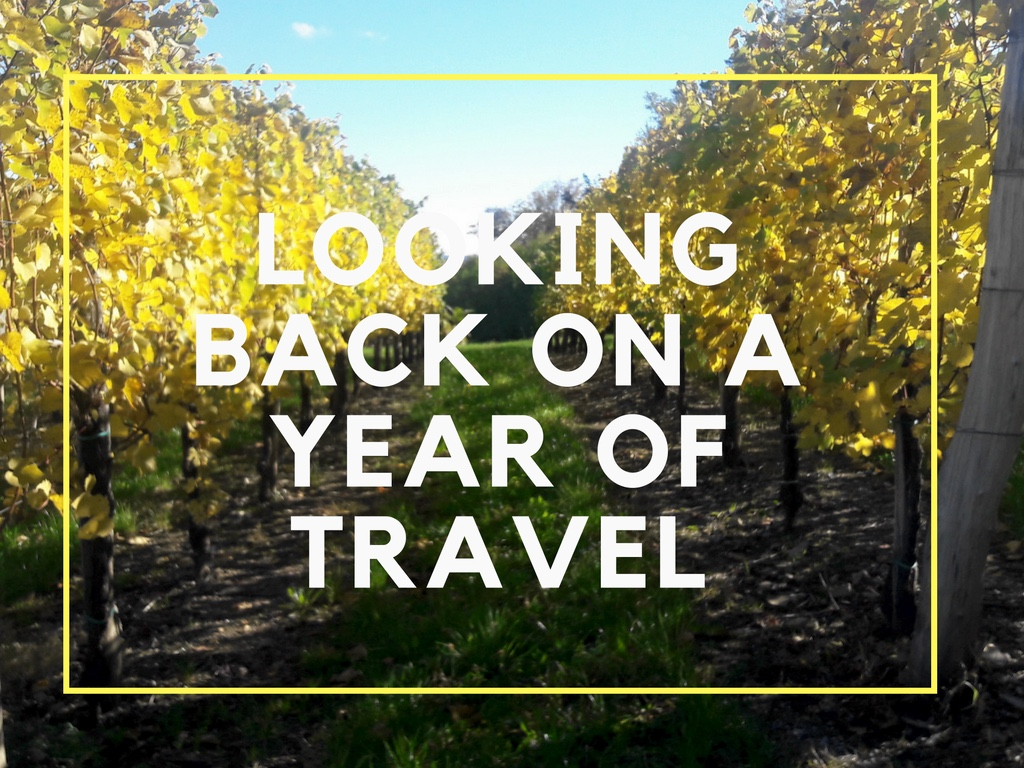 Looking Back on a Year of Travel
