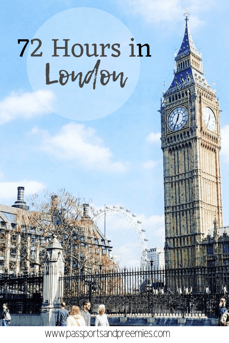Pin Me - 72 Hours in London
