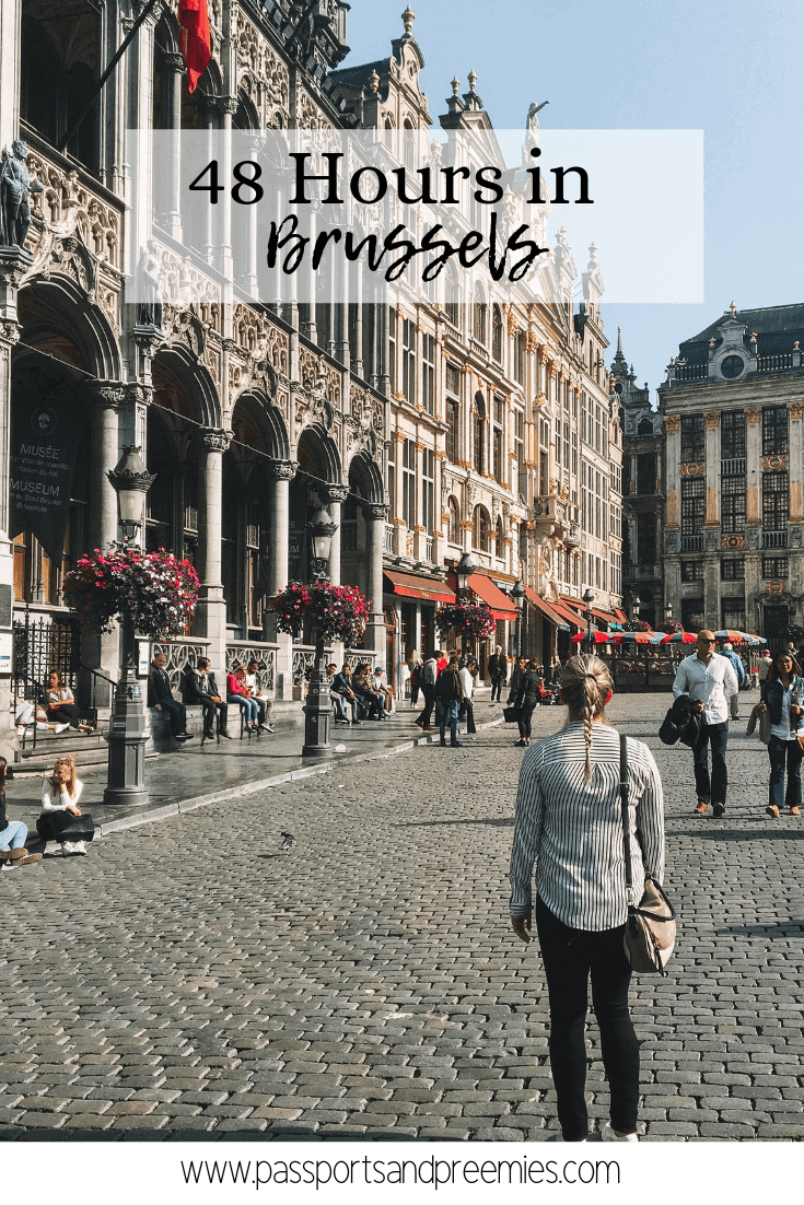 Pin Me - 48 Hours in Brussels