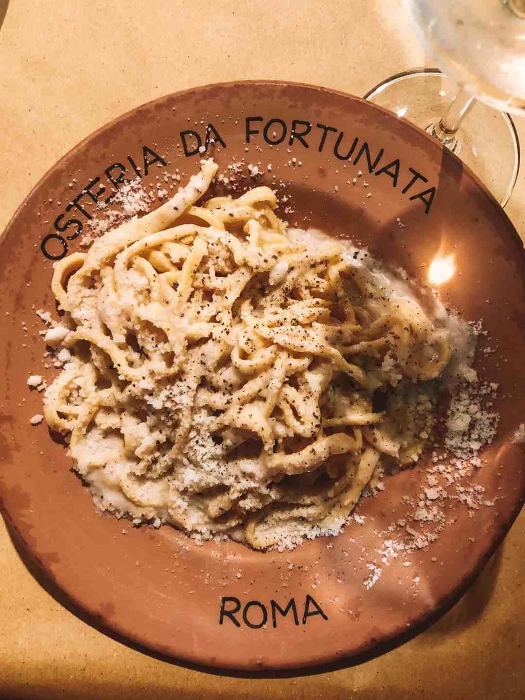 Osteria Da Fortunata - Rome