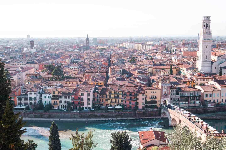 Views of Verona from Teatro Romano