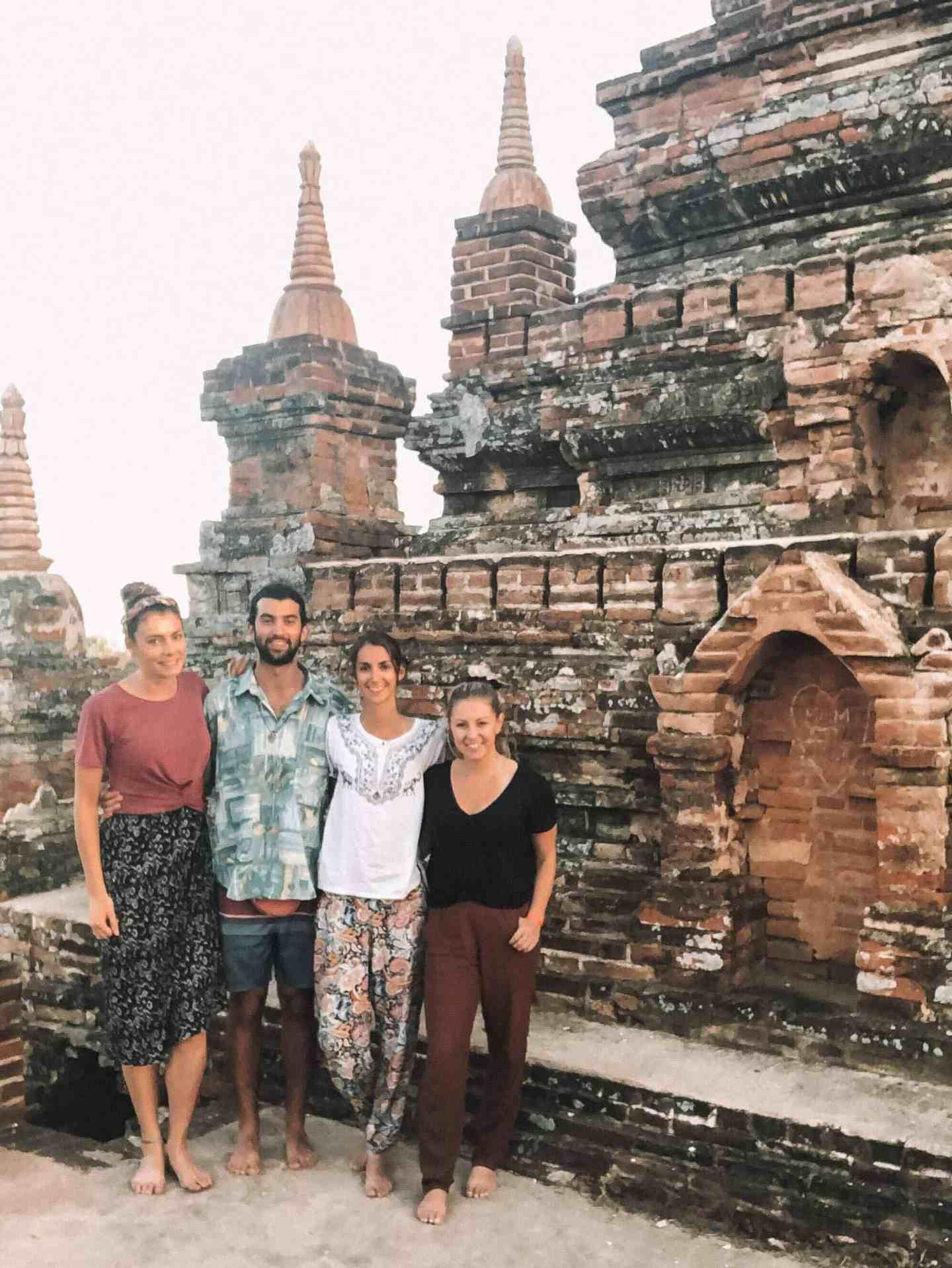 Friends in Bagan