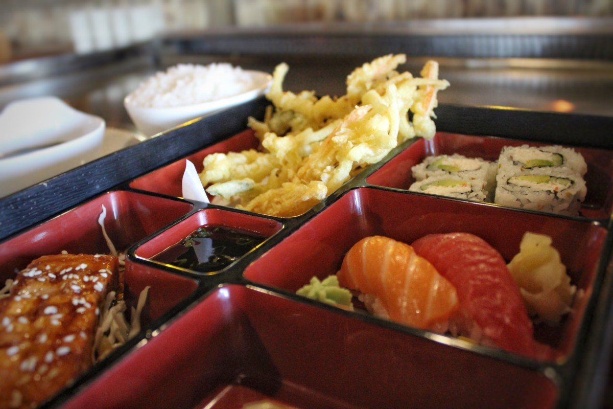 Pocket Guide to Allen, Texas: Best sushi restaurant in Allen with Bento Box for lunch (best way to get a sampler)