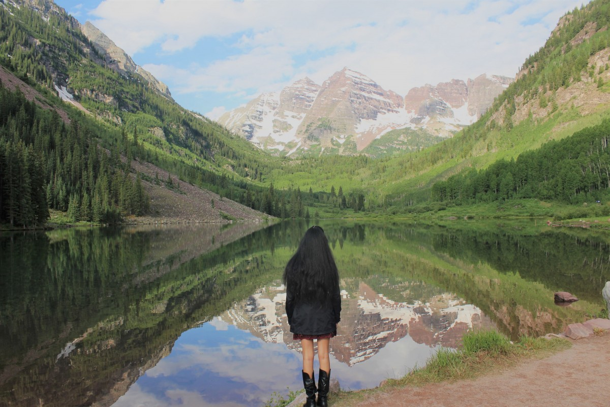 Gazing into the picture perfect Maroon Bells is easily one of the top things to do in Aspen