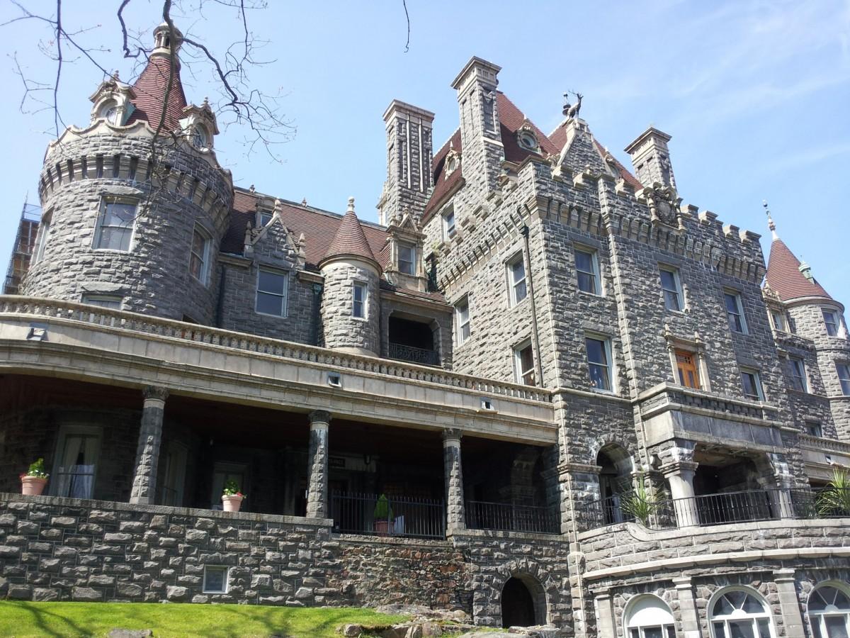 Visiting Boldt Castle Exterior