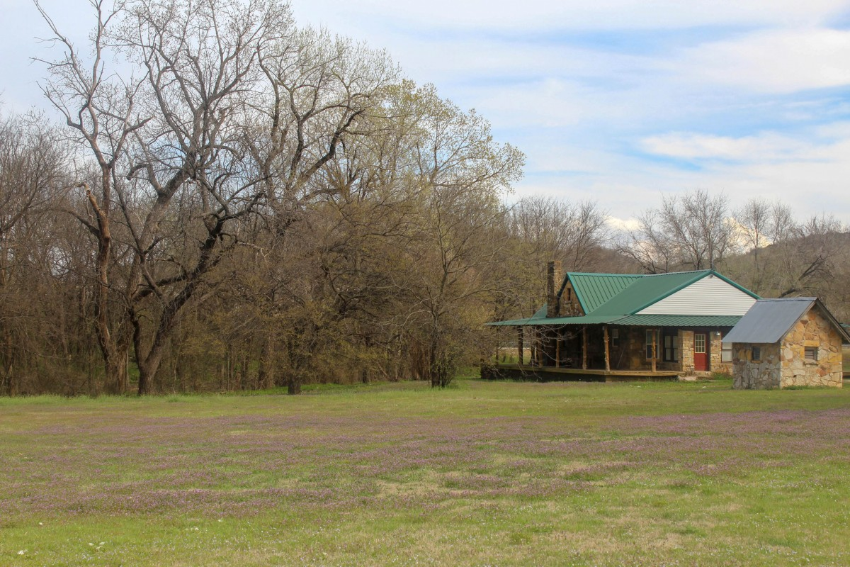 Picnic Spot just off the highway: random things to do in Davis Oklahoma