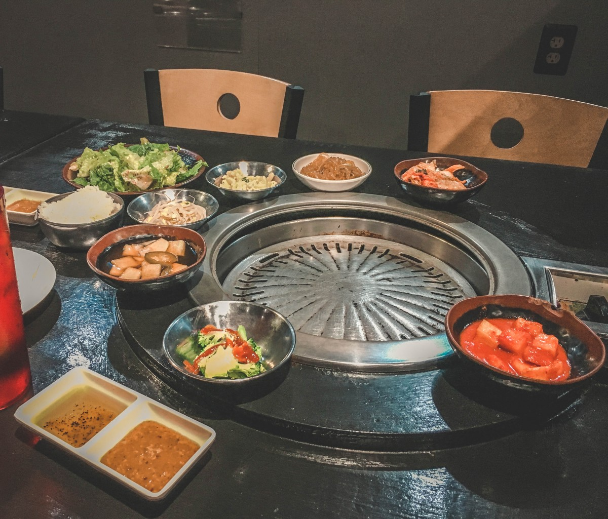 Korean BBQ at Yoon's in Carrollton