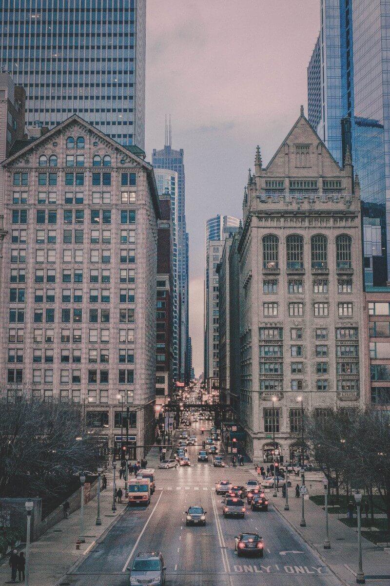 Citscape of Chicago, Illinois
