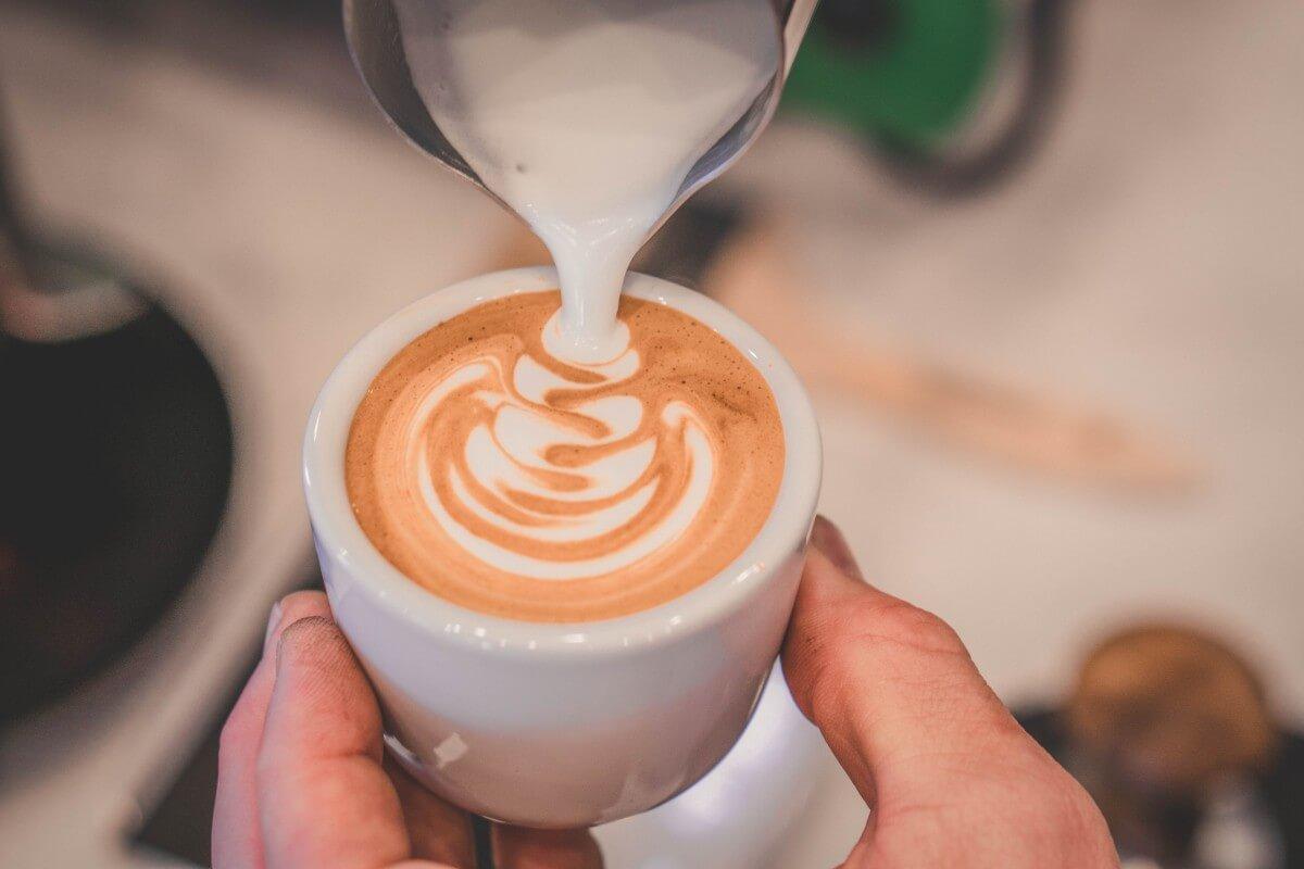 Pouring coffee in Nebraska