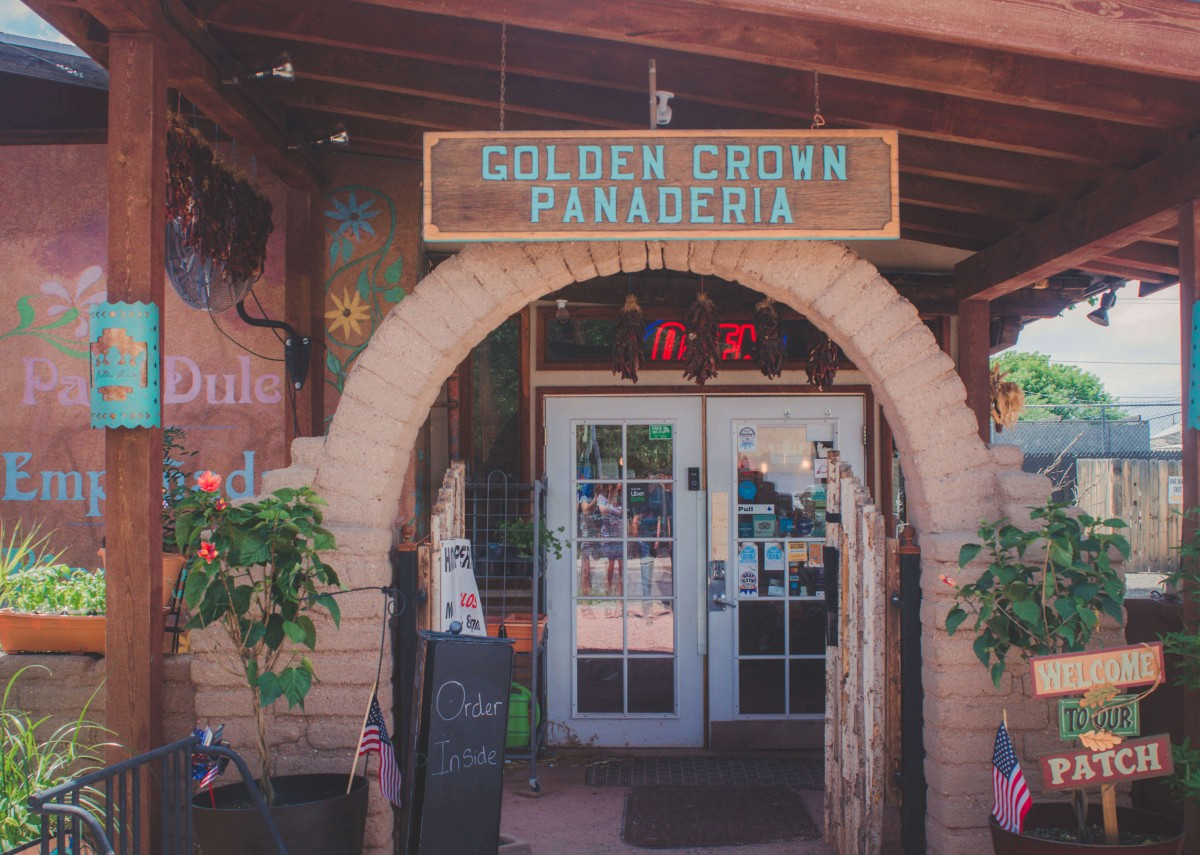 Golden Crown Panaderia, a little further away from some of the other things to do in Old Town Albuquerque but amazing regardless