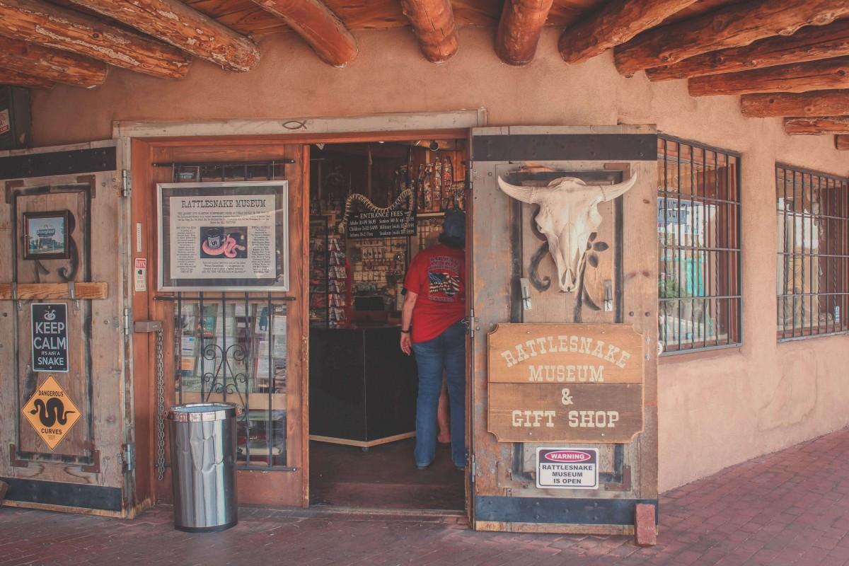 rattlesnake museum in ABQ