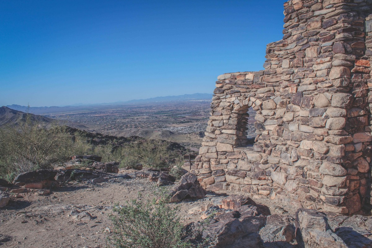 Dobbins Lookout at South Mountain Preserve