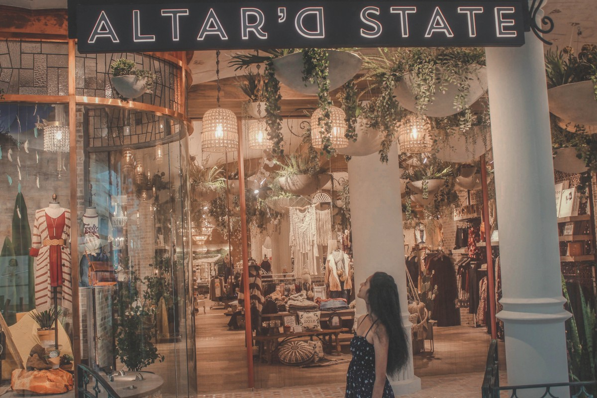 altar'd state in Stonebriar Centre in Frisco
