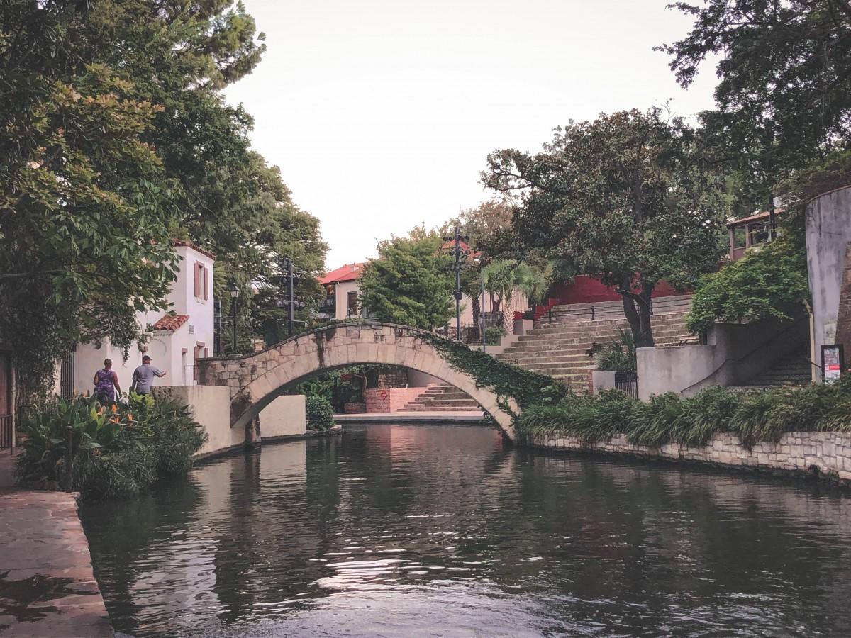 River Walk in Spring in San Antonio