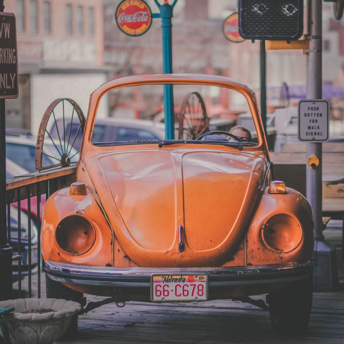 flea market car seen whilst visiting Omaha