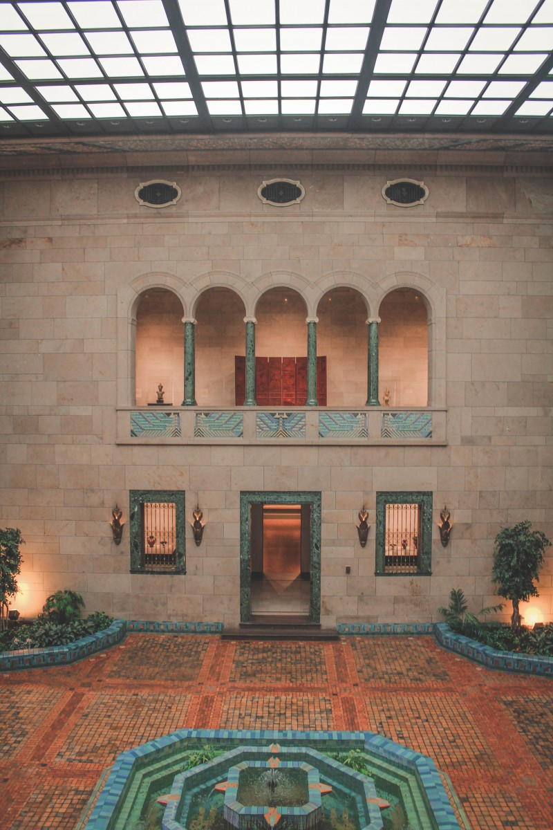 Joslyn Art museum in Omaha