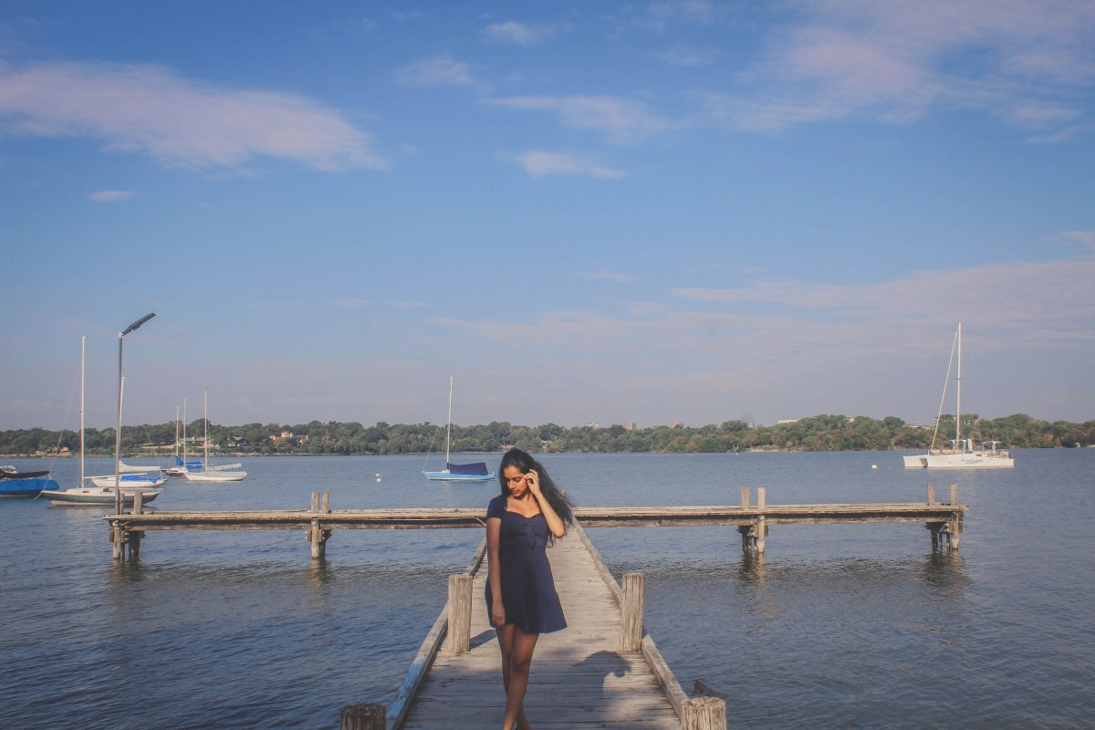 Anshula at White Rock Lake Park In Dallas