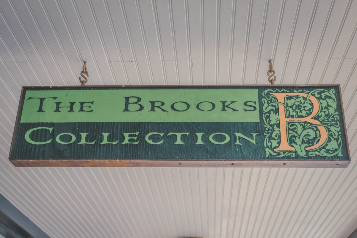 The Brooks Collection logo and sign
