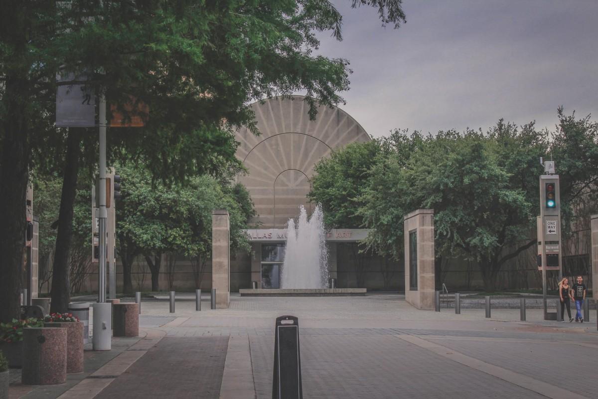 Dallas Museum Of Art side entrance