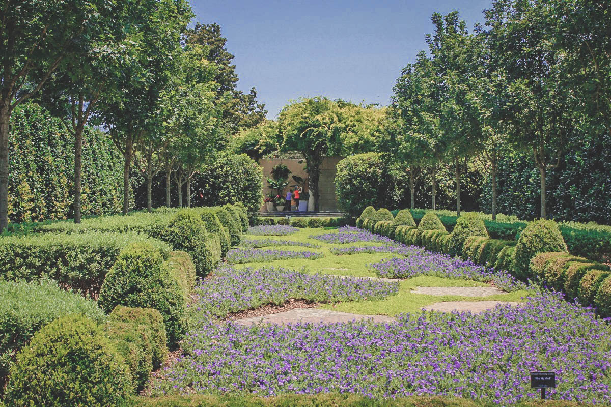 One Day In Dallas itinerary cover photo of sweeping gardens