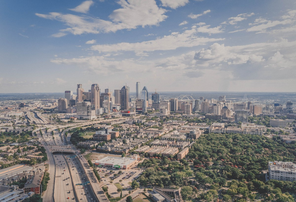 View Of Dallas Texas