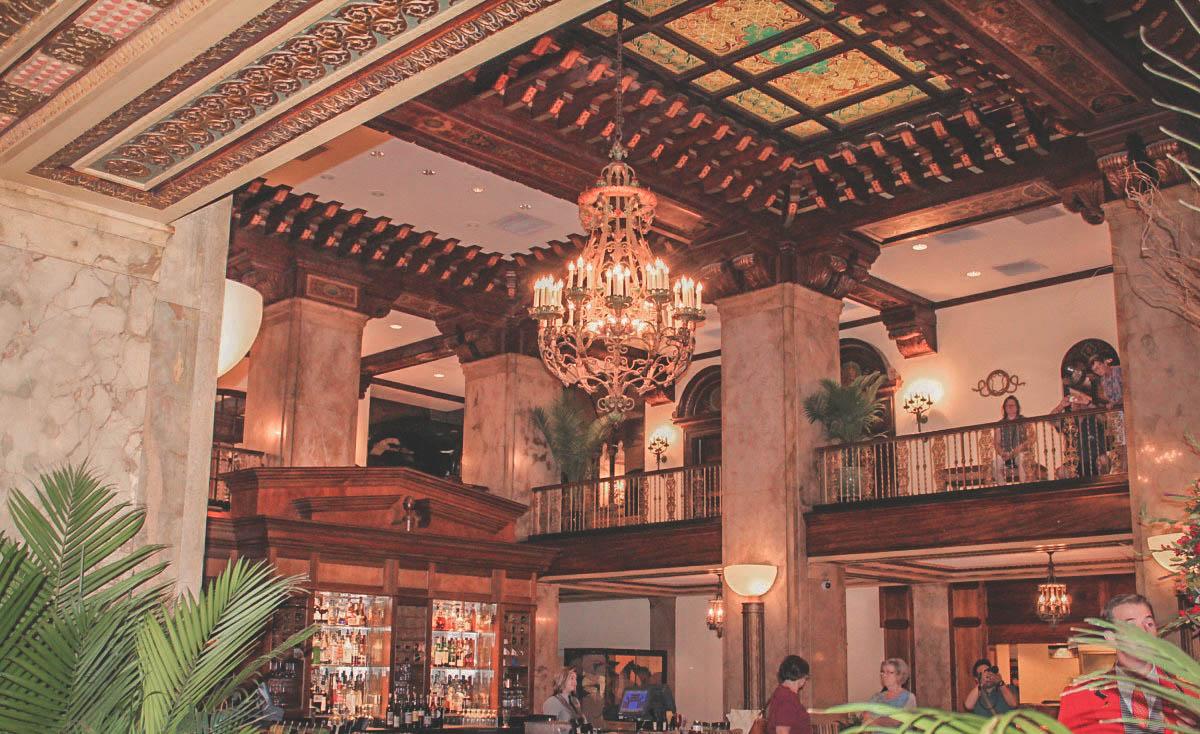 Peabody Hotel atrium in Memphis