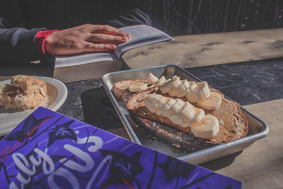 banana bread with honey