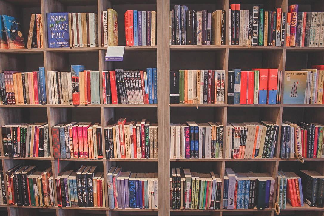 list of books at Interabang