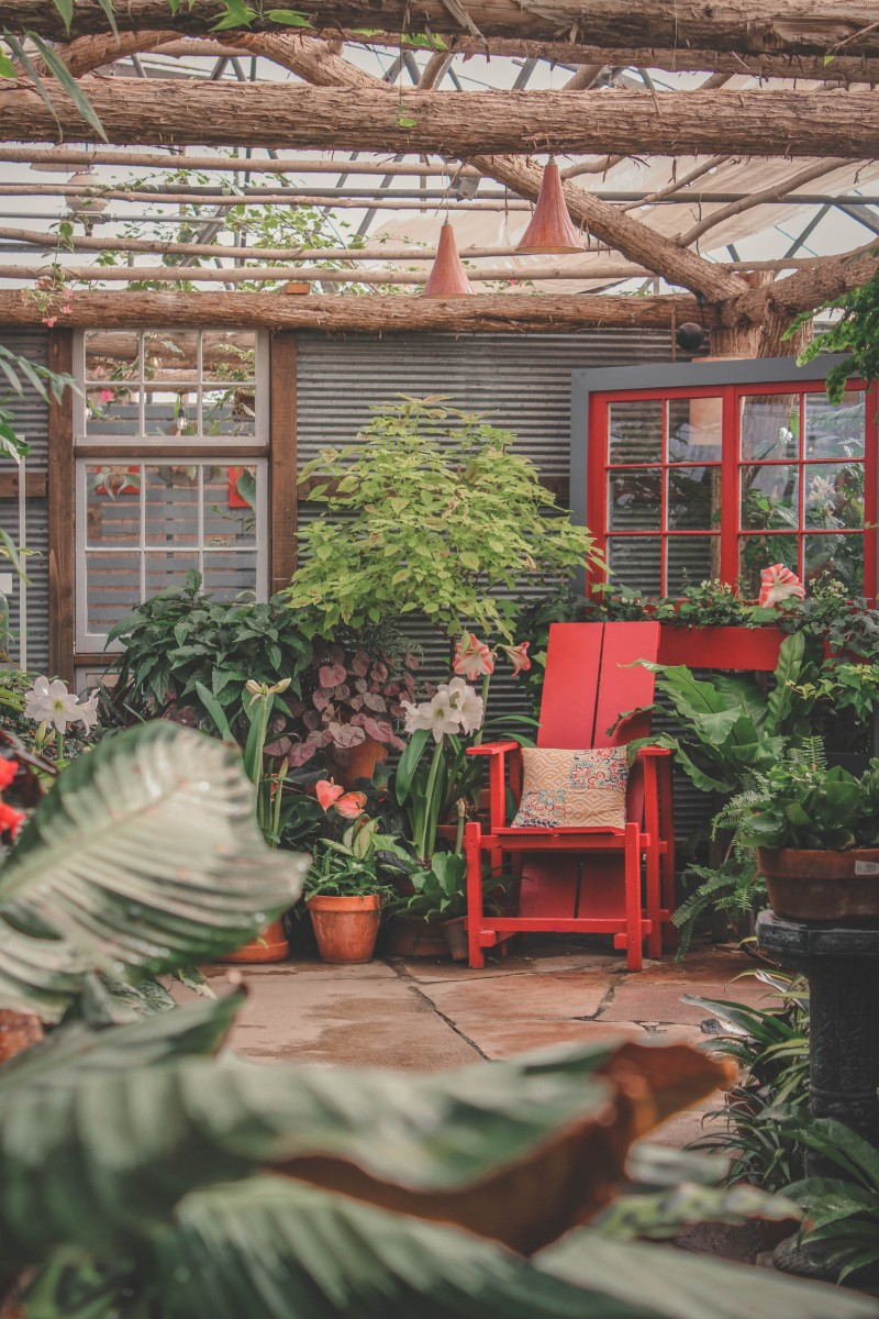 home garden tour in Greater Des Moines Botanical Garden, one of the top things to do in Des Moines