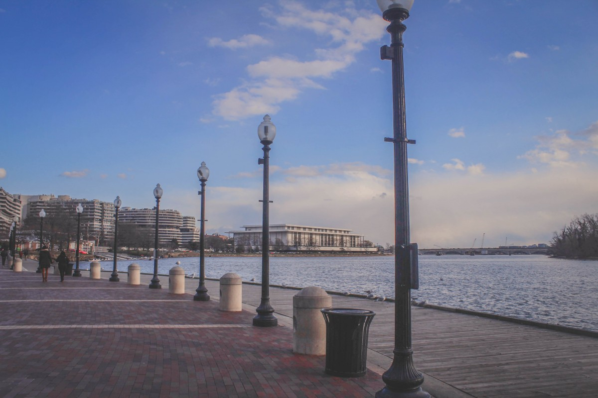 Georgetown Waterfront is one of the best things to do in Georgetown DC