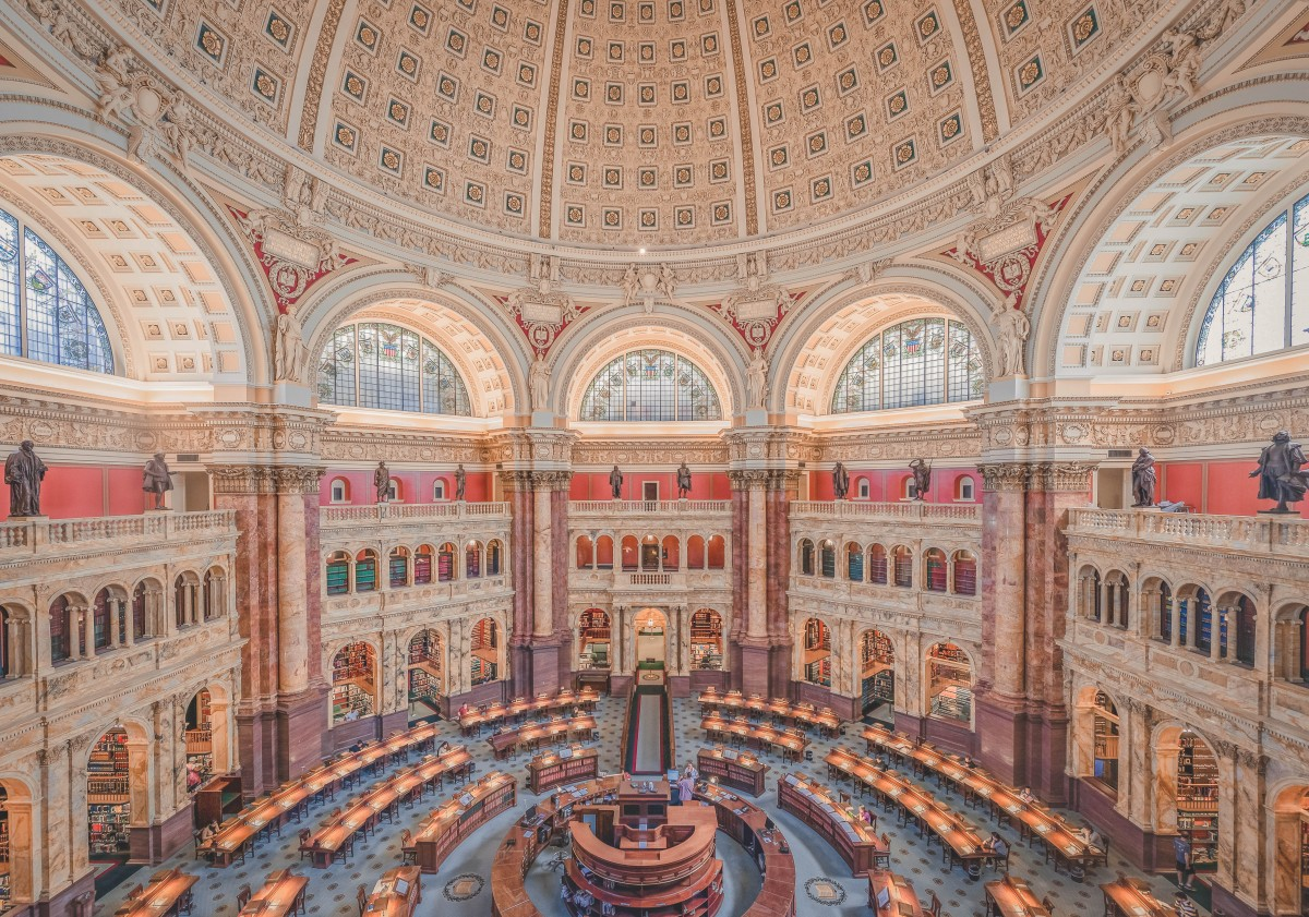 most beautiful libraries in the US: Library Of Congress