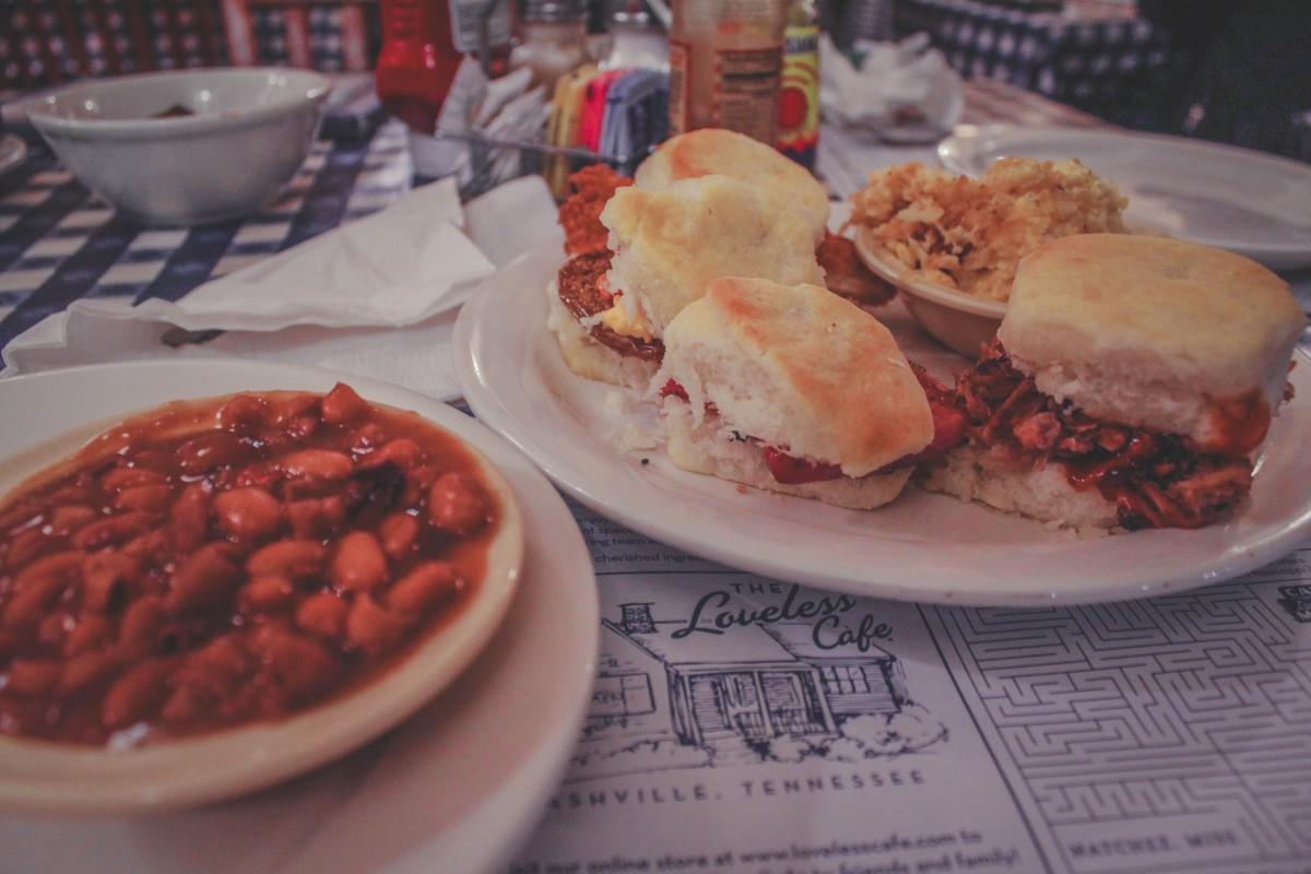 best places to eat in Nashville - lunch photo
