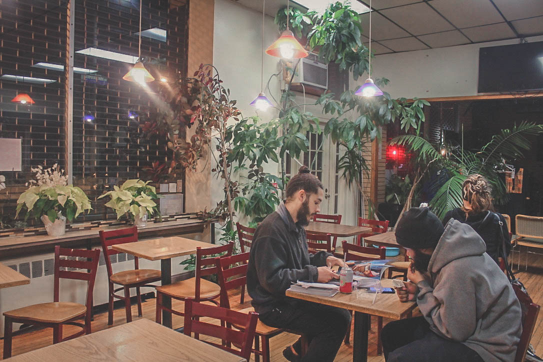 Nile Cafe in historic Germantown Philadelphia