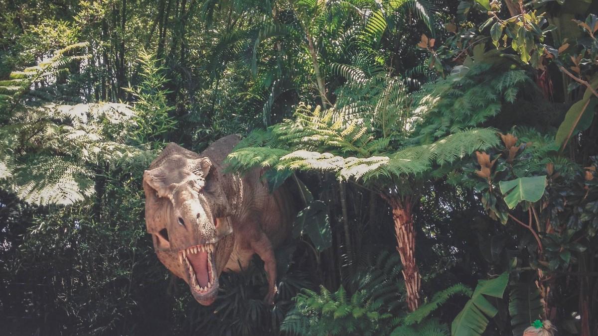 Jurassic Park ride entrance