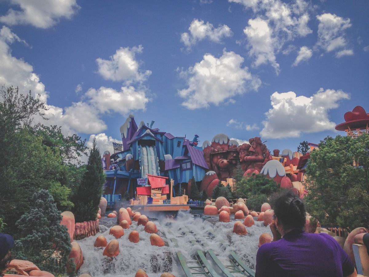 Islands Of Adventure: how to cool off whilst visiting Universal Studios on a budget