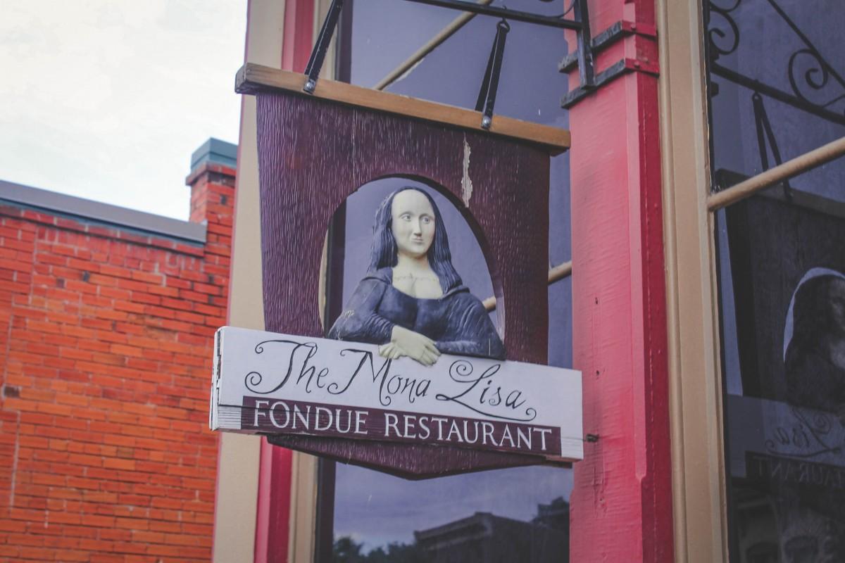 Dinner restaurants in Manitou Springs: Mona Lista Fondue Restaurant logo