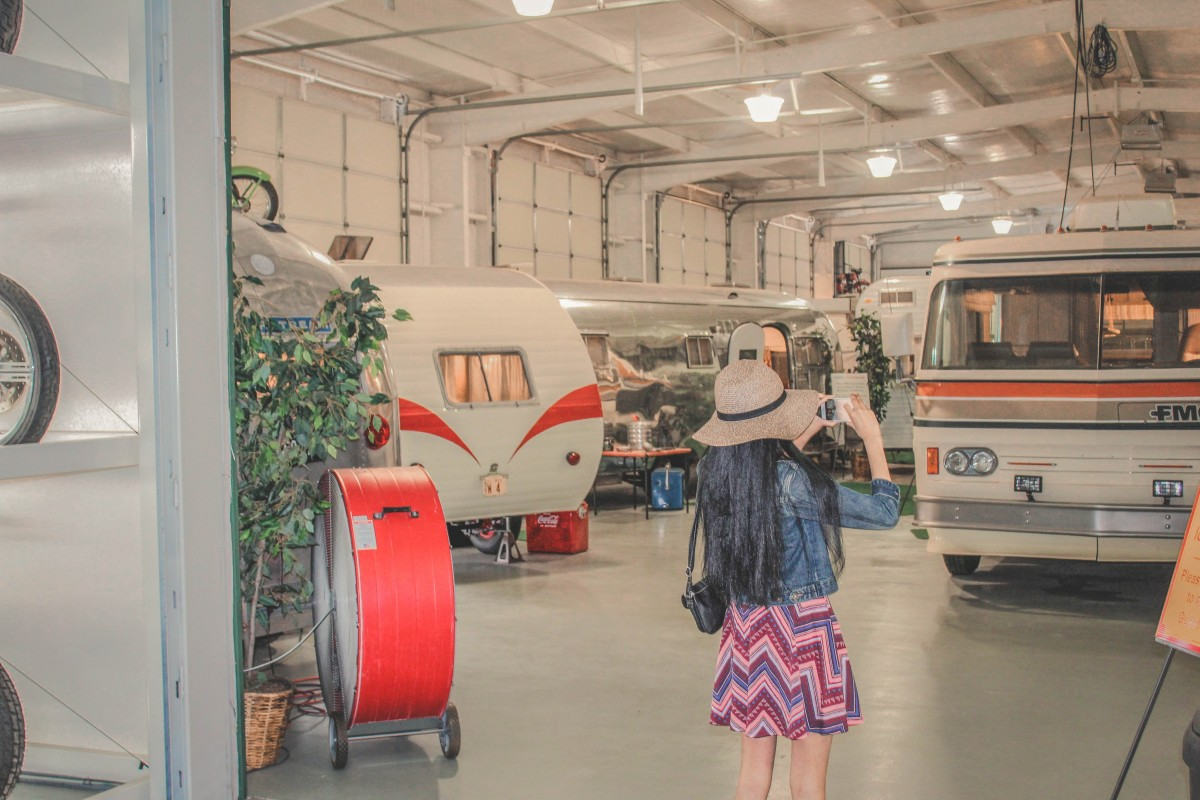 Things To Do In Amarillo, Texas: visiting the RV museum