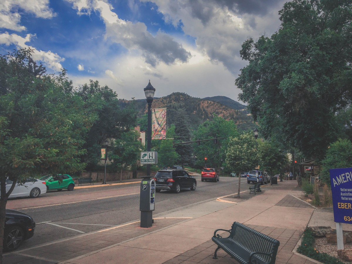 Streetside Parking Spot At Manitou Springs