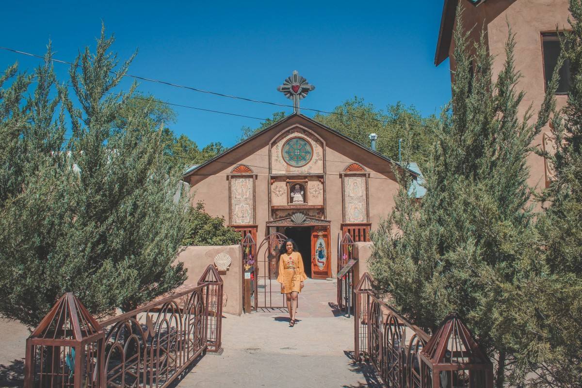 Santo Niño Chapel in Chimayo, New Mexico