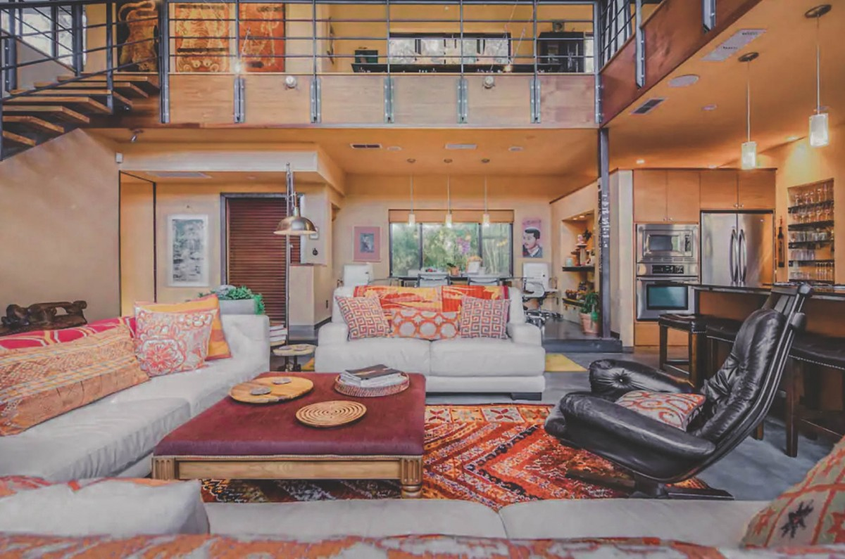Airbnbs in Austin: Bali Inspired Loft