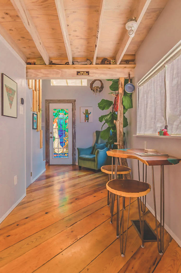 Artist's Loft Airbnb In Dallas - photo via Airbnb