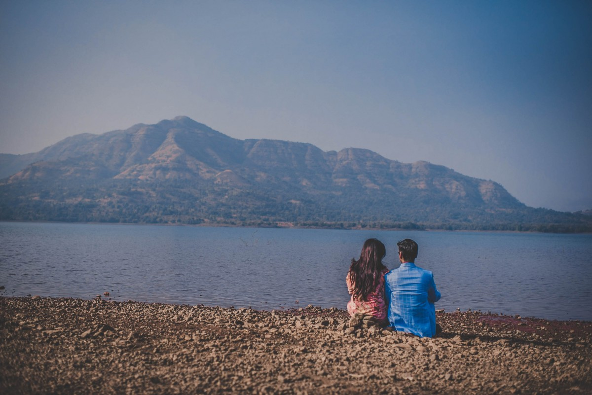 indian couple on a road trip - road trip questions for couples