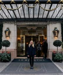 Hotel Diary Le Bristol Paris - Passport Friday