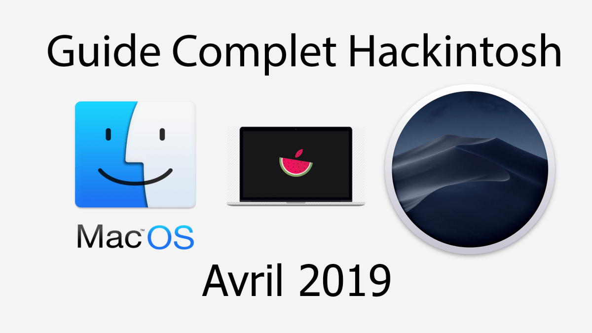 Hackintosh : Guide des composants Avril 2019