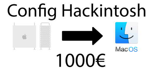 config hackintosh 1000€