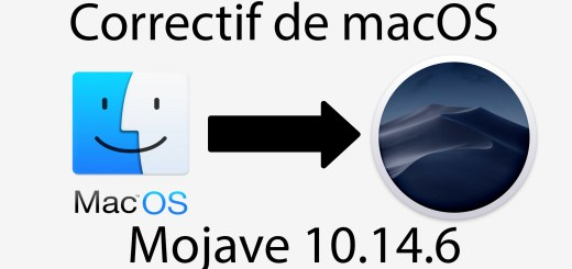 correctif macos mojave hackintosh