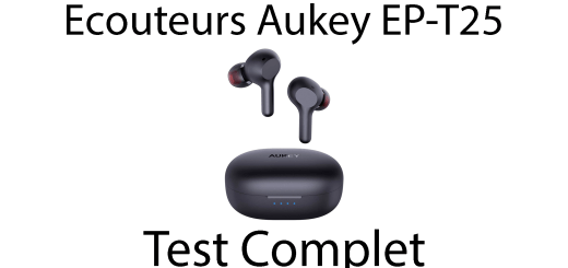 AUKEY EP-T25 test complet