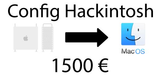 hackintosh 1500 euros
